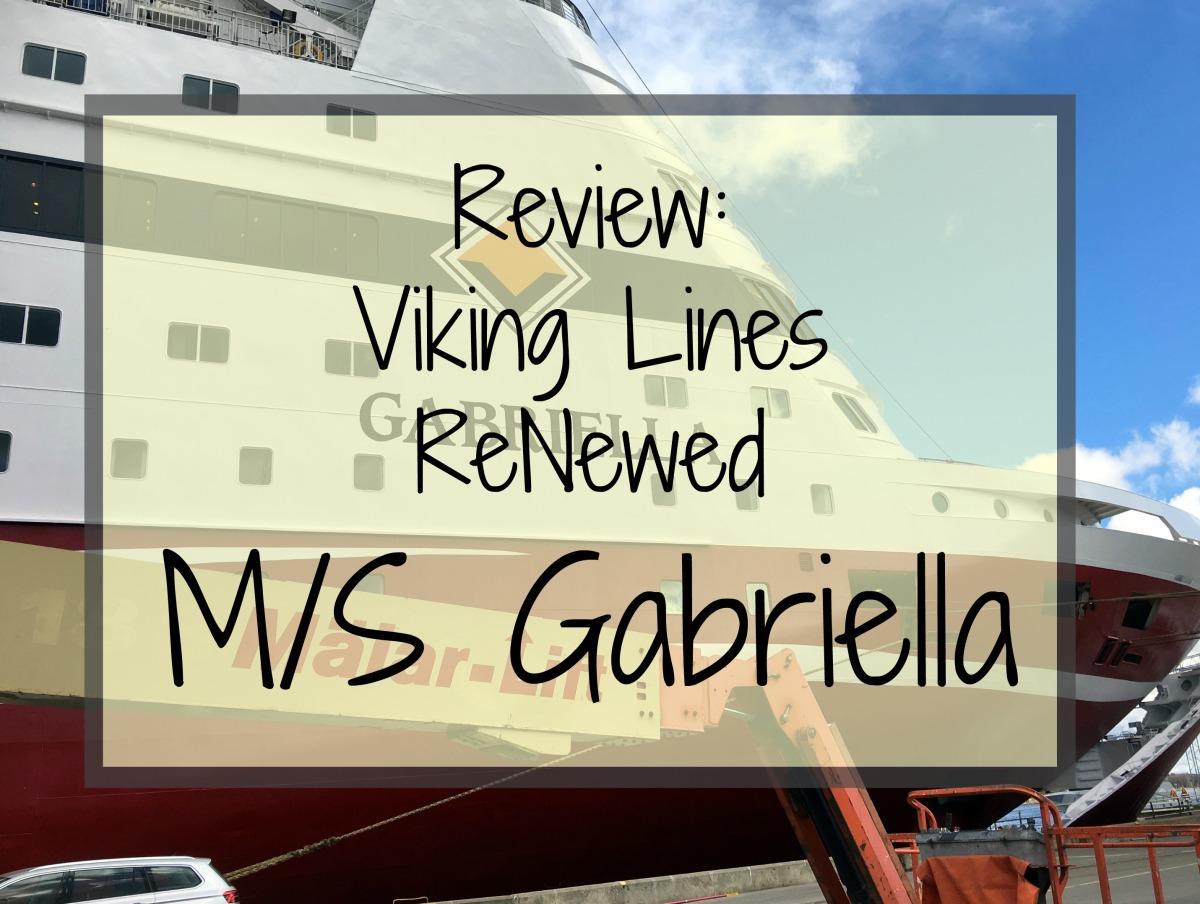 Renewed M/S Gabriella (Viking Line)