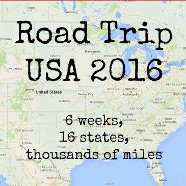road trip usa otsikko
